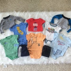 Other - 6 MO Bundle! Onesies & 2 Pants!